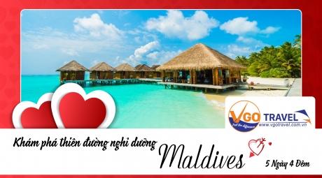 THIÊN ĐƯỜNG NGHĨ DƯỠNG MALDIVES 5N4Đ