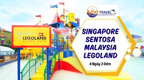 SINGAPORE - SENTOSA - MALAYSIA - LEGOLAND 4N3Đ