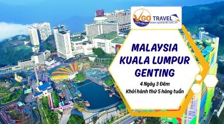 MALAYSIA - KUALA LUMPUR - GENTING 4N3Đ