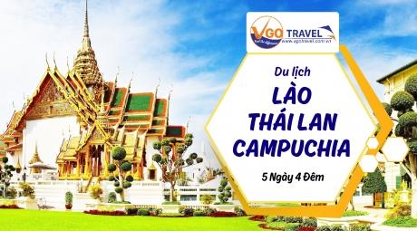 Du lịch Lào – Thái Lan – Campuchia: TP. HCM – PAKSE – UBON – CHAMPASAK 4N3Đ