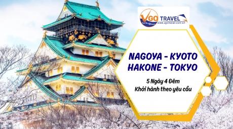 NAGOYA - KYOTO - HAKONE - TOKYO 5N4Đ
