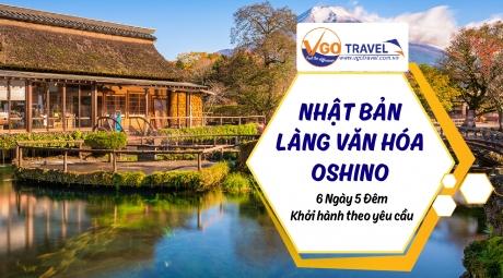 NHẬT BẢN – CUNG ĐƯỜNG VÀNG: Tokyo – Khu du lịch Hakone – Núi Fuji Làng văn hóa Oshino – Hakkai 6N5Đ
