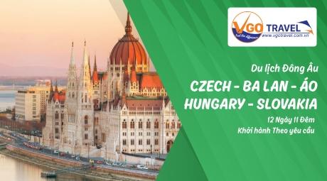 DU LỊCH ĐÔNG ÂU CZECH – BA LAN – HUNGARY SLOVAKIA – ÁO 12N11Đ