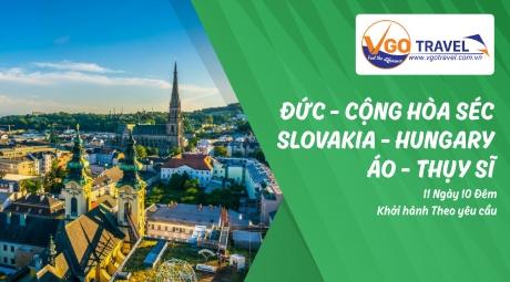 ĐỨC – CỘNG HOÀ SÉC – SLOVAKIA – HUNGARY – ÁO – THUỴ SĨ 11N10Đ