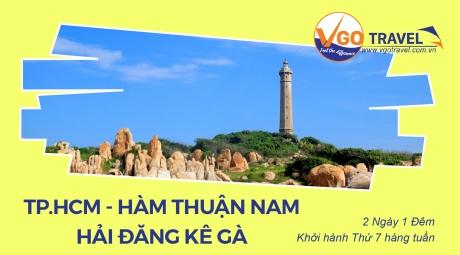 TP HCM - HÀM THUẬN NAM - HẢI ĐĂNG KÊ GÀ 2N1Đ