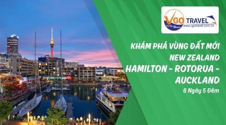 KHÁM PHÁ VÙNG ĐẤT MỚI NEW ZEALAND : HAMILTON - ROTORUA - AUCKLAND 6N5Đ